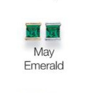 Lia Sophia May Emerald Green Birthstone Earrings